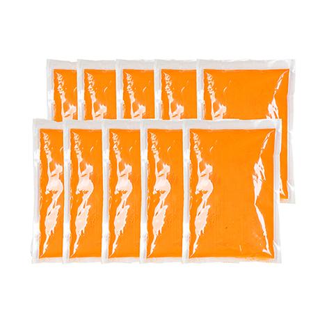 Zakjes Oranje KleurenPoeder